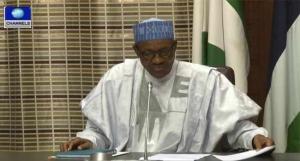 President Buhari Receives 2016 Budget