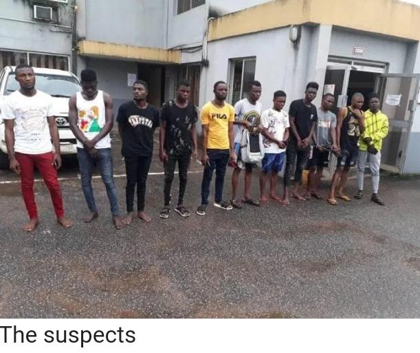 EFCC releases list of 11 Internet Fraudsters arrested in Delta